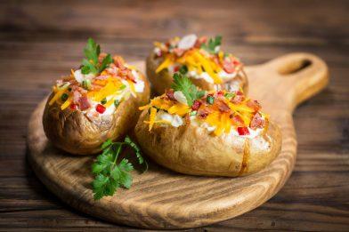 Receita deliciosa de batata recheada