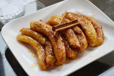 Banana assada simples e deliciosa