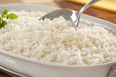 Receita perfeita de arroz
