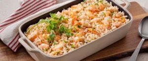arroz de camarão
