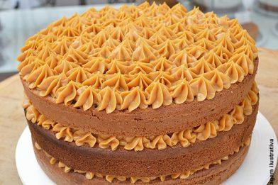 Saboroso e prático bolo churros passo a passo
