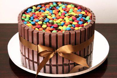 Receita de bolo de confete