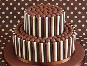 O melhor bolo de canudo de chocolate