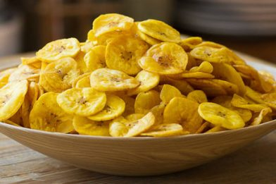 Banana chips super crocante