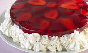 bolo de gelatina