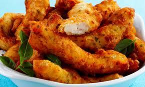 Isca de frango simples e delicioso
