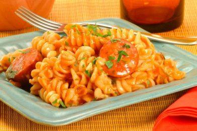 Deliciosa e simples receita de macarrão prático
