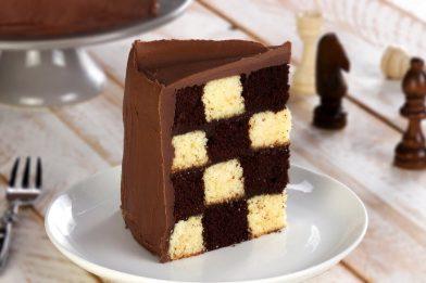 Delicioso bolo xadrez passo a passo