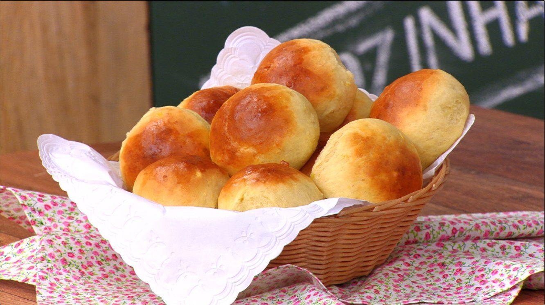 receita de pão doce simples