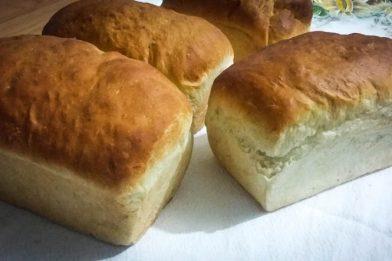Pão caseiro rápido