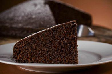 Simples receita de bolo de chocolate gostoso