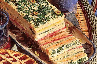 A melhor torta salgada colorida