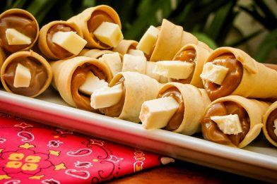 Receita de canudo frito simples e delicioso