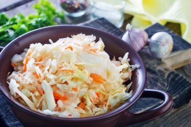 A melhor salada refrescante de repolho