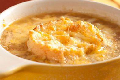 Sopa de cebola super cremosa