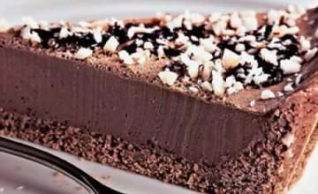 Melhor receita de torta de chocolate