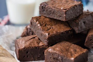 Os melhores brownie simples