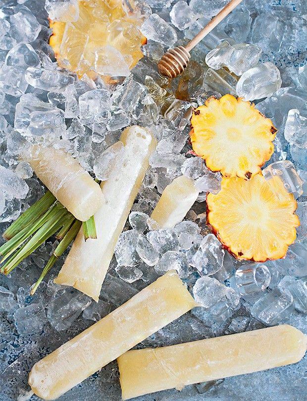 geladinho de abacaxi simples