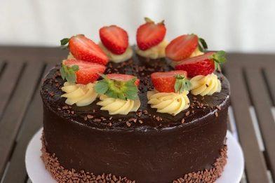 A melhor torta dois amores muito simples