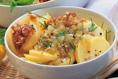 Salada de batata alemã kartoffelsalat