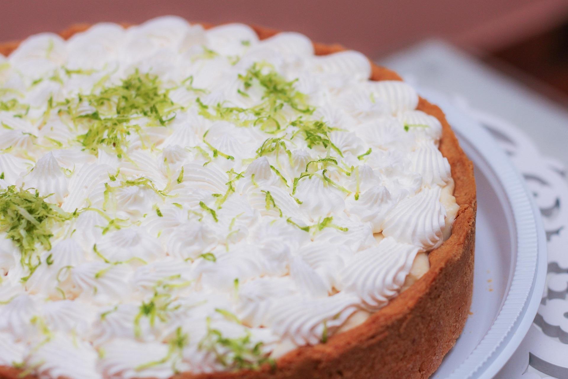 torta de limão gelada