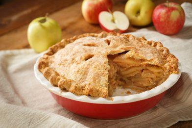 A melhor torta de maçã americana