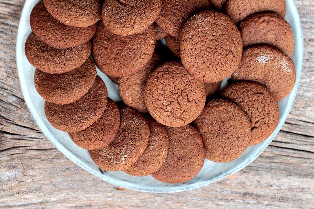receita de biscoito caseiro de chocolate