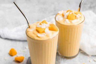 Deliciosos smoothies americanos