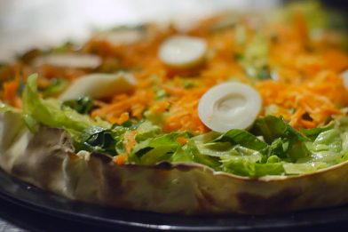 Receita de pizza light fácil e prática