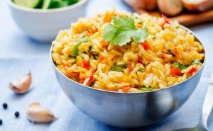 arroz temperado