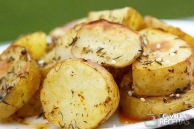 Batata de forno deliciosa