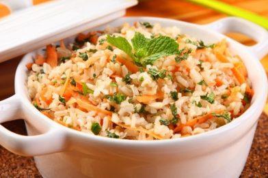 Melhor receita de arroz temperado