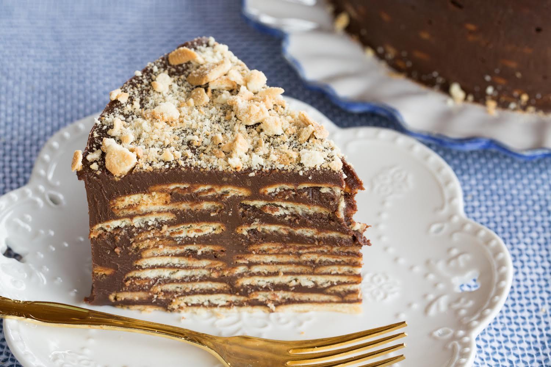 bolo de palha italiana