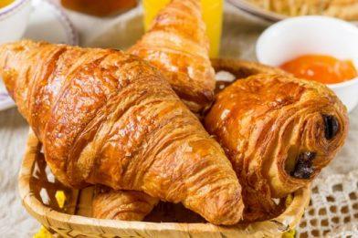 Melhor receita de croissant