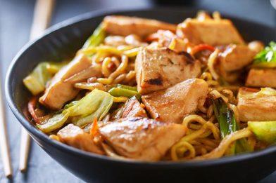 O melhor yakisoba receita de frango
