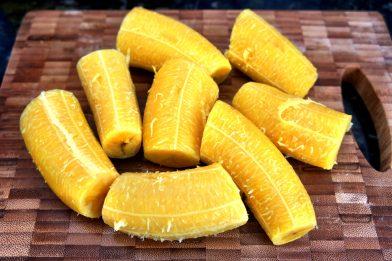 Receita banana da terra frita
