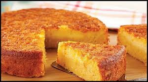 Bolo de milho com queijo