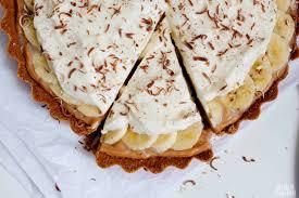 Deliciosa torta de banana com doce de leite e suspiro