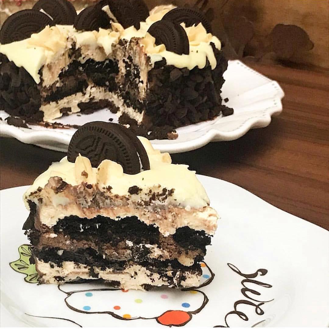bolo de biscoito negresco