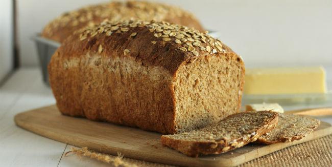 receita de pão caseiro light