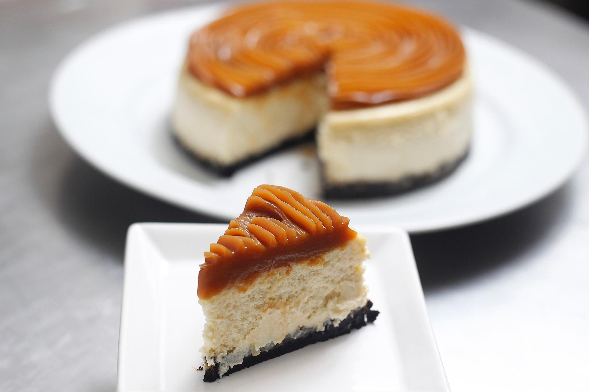receita de cheesecake de doce de leite