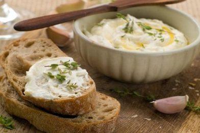 Patê de queijo delicioso