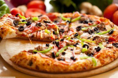 Pizza italiana muito gostosa