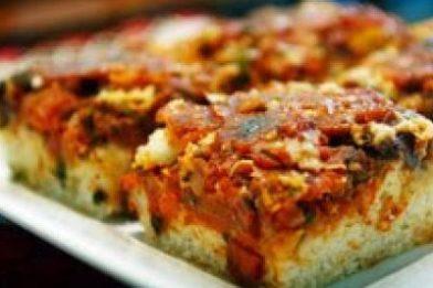Pizza de sardinha de liquidificador muito fácil