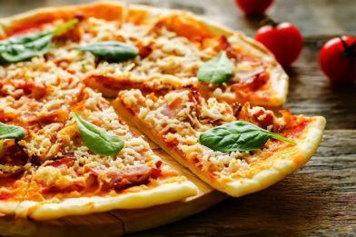 Receita de pizza simples