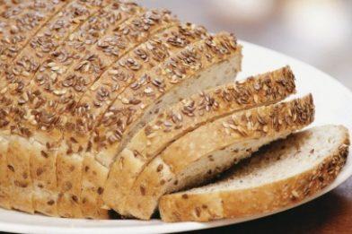 Receita de pão caseiro light simples