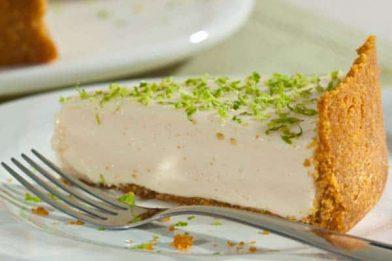 Torta de limão gelada muito deliciosa