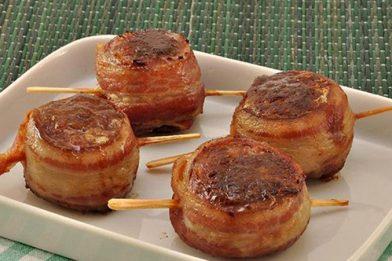 Receita de carne moída com bacon e queijo prática