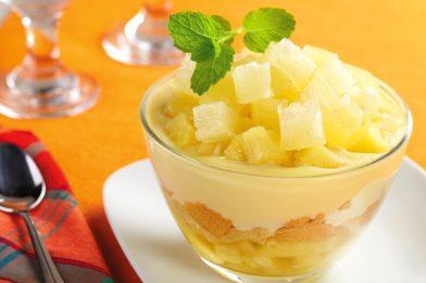 Simples e rápido gelado de abacaxi