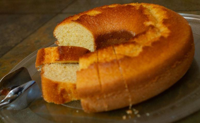 bolo de caçarola simples
